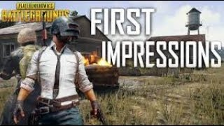 PUBG MOBLIE Live || First Impressions || Chaddi Gang ** INDIA **