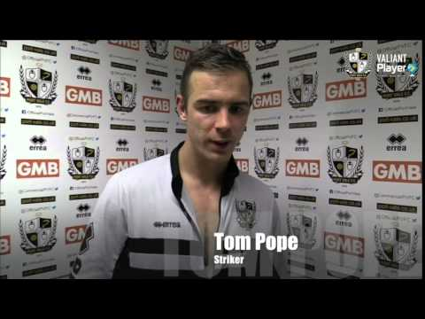 REACTION: Tom Pope On Hard Work Finally Being Rewarded