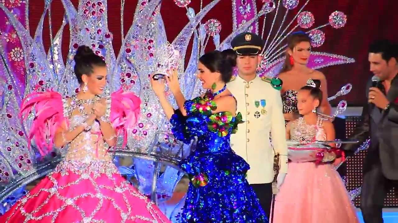 Noche de Coronación - Reina Carnaval de Barranquilla 2014 - YouTube Barranquilla