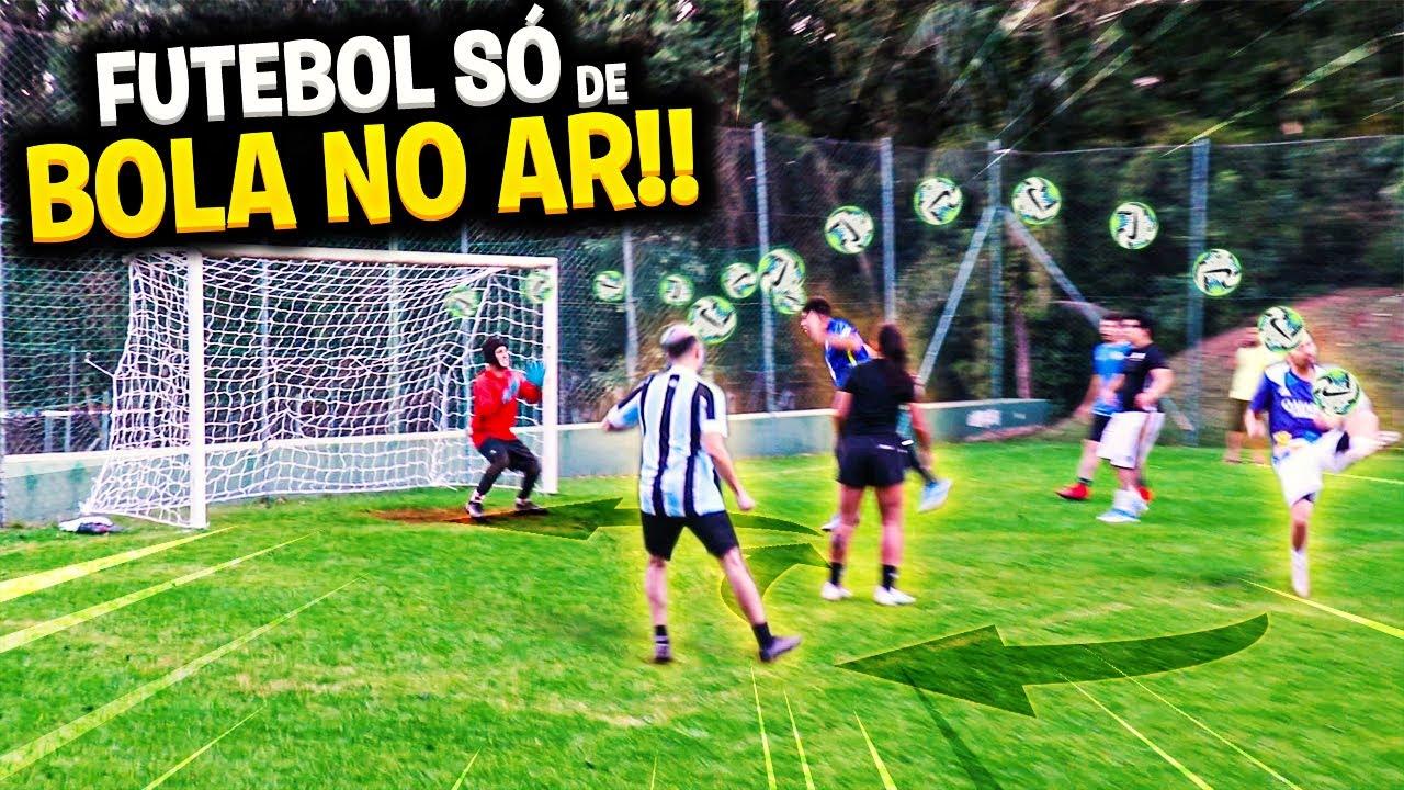 A BOLA NÃO PODE TOCAR NO CHÃO!! *JOGO REAL* (TIME CAIO LO VS TIME LUCANETA)