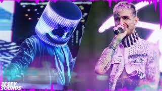 Lil Peep x Marshmello - Spotlight (Bass Boosted)(Official Audio)
