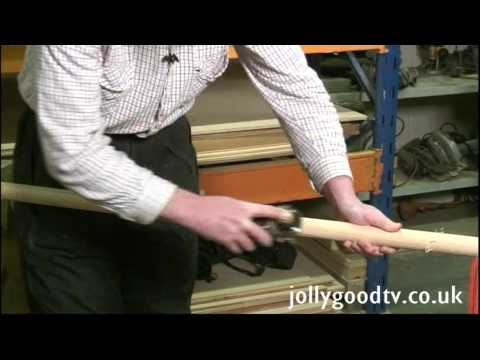 Home boat building - Making Spars
