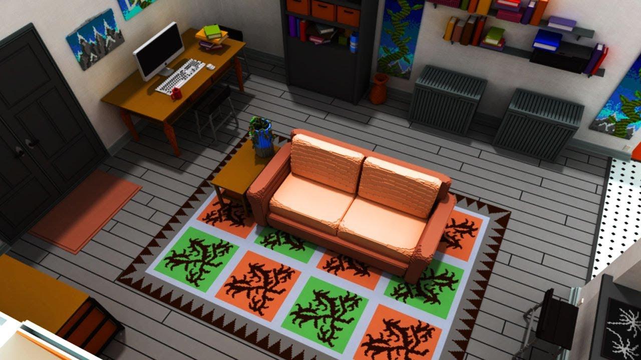 Das detaillierteste minecraft wohnzimmer k che beste baumap ever youtube - Minecraft wohnzimmer ...