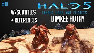 Easter Eggs and Secrets of Halo 5: Dimkee Hotay The Grunt (w/subtitles and references!) #10