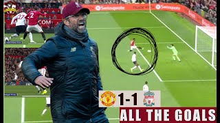 Rashford on FIRE! Lallana saves the day! Manchester United 1-1 Liverpool All The Goals Show