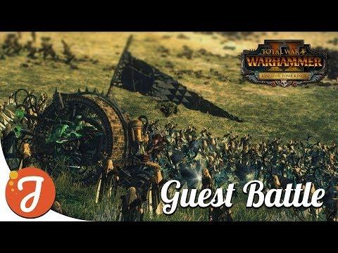 Dancing My Way To Victory .feat DahvPlays | Wood Elves Vs Skaven | Total War: Warhammer II