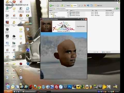 [PS2] PES 2012 Face & Hair Viewer.flv