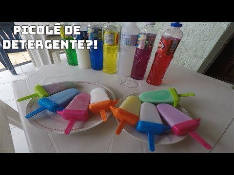 Make FIZ PICOLÉ COLORIDO DE DETERGENTE! Snapshots