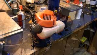 Weed Wacker Engine On Nitromethane/Methanol