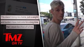 Aaron Carter – I'm Bisexual! | TMZ TV
