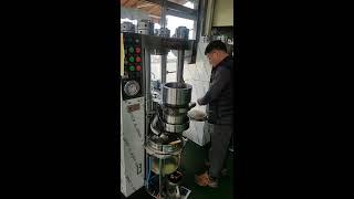 성창테크 기름착유기 영상, 동방기계 원터치 착유기 설치…
