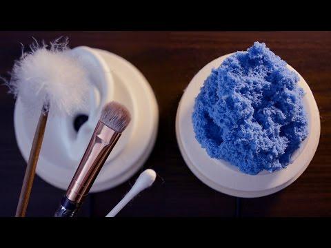 🖌 ASMR 👂🏻 | Ear brushing & Cleaning (No Talking)