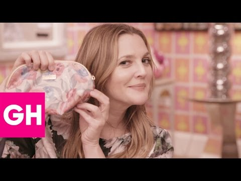 Drew Barrymore | What's In My Makeup Bag | GH