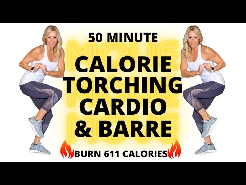 50-minute-calorie-torching-cardio-&-barre-workout-|-home-workouts-|-burn-611-calories🔥