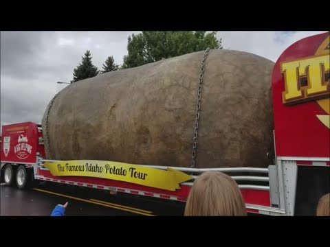 Shelley Idaho Spud Day Parade 2017