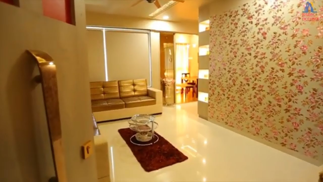 Luxurious Interior Designed 2 Bhk Flat Simple Beautiful Youtube