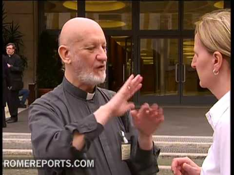 A conference for deaf-mutes in the Vatican