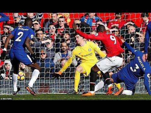 Falanqeynta Chelsea 2-2 Manchester United Jose oo qarasta lagu kariyey