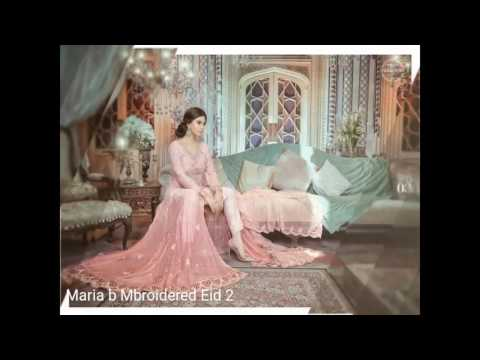 Maria B Mbaroidered Eid 2 Chiffon Collection 2017 by Sara Clothes