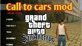 Call to drivers in GTA San Andreas Android 2019