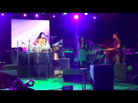 PERCUSSIONIST Arun Solanki at HARMAN LIVE ARENA PALM EXPO 2014