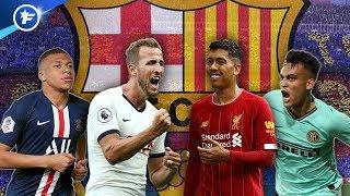 Le FC Barcelone veut recruter un numéro 9 de classe mondiale | Revue de presse Video