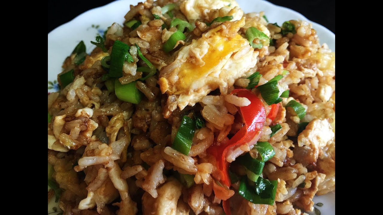 Fried rice recipes egg fried rice with dark soy sauce recipe youtube ccuart Gallery
