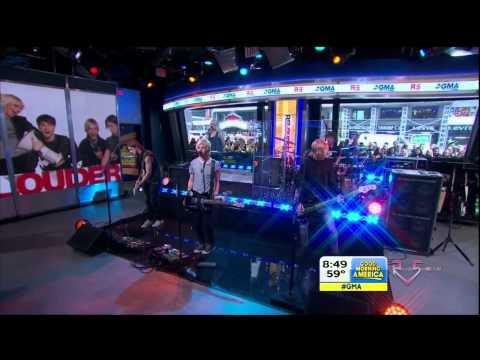 Good Morning America - R5 - (I Can't) Forget About You [HD]