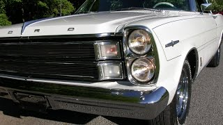 Video-1966 Ford Galaxie 500 XL Convertible