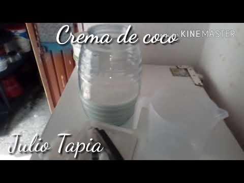 Crema de coco para negocio agua de coco