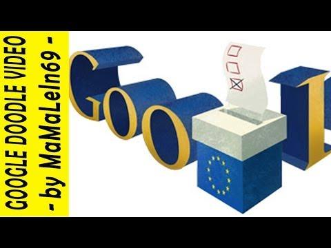 European Parliament Election | Elezzjoni Parlament Ewropew | 2014 Google Doodle