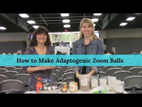 How to Make Adaptogenic Zoom Balls