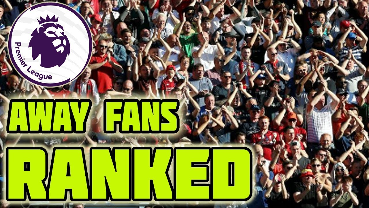 Ranking Premier League Away Fans 2018/19 at The Cardiff City Stadium