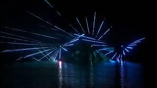 Выпускной 2018, Кореновск, лазерное шоу на воде