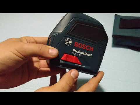 Просто и понятно про лазерный нивелир BOSCH GLL 2-10 Professional. Personal Opinion.
