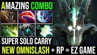 New Update 7.20 [Juggernaut] Super Omnislash Rework With Amazing RP Combo 27Kills Solo Carry Dota 2
