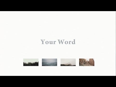 Your Word //  Bryce Anderson  // Everywhere