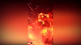 Edited this New Tianjin China explosion to help people see it more ...