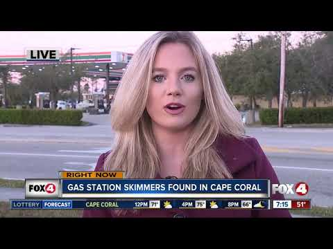 Skimmer found inside Cape Coral gas pump