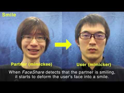 FaceShare: Mirroring With Pseudo-Smile Enriches Video Chat Communications