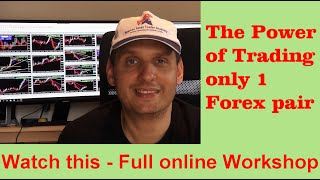 How to Trade Forex Successfully starting with one pair - Full Workshop
