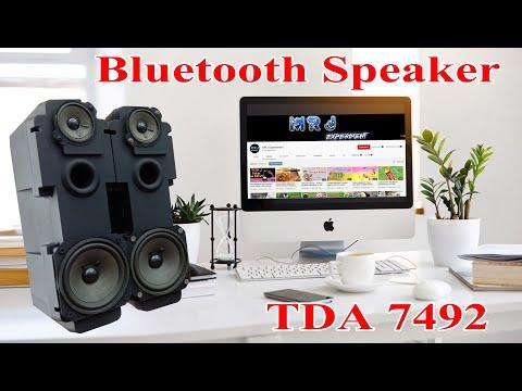 BLUETOOTH SPEAKER DIY    EX TELEVISION SPEAKER    TDA7492