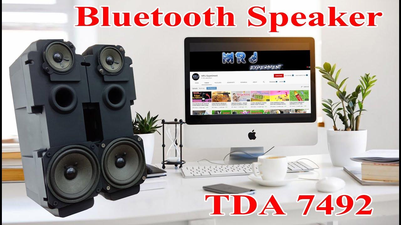 BLUETOOTH SPEAKER DIY || EX TELEVISION SPEAKER || TDA7492