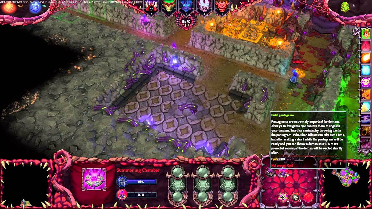 Dungeons 2 – Live Gameplay Session (Demons Faction)