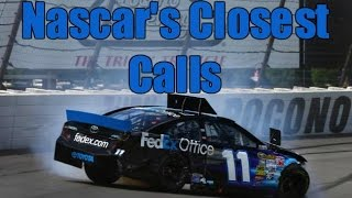 Nascar'S Closest Calls