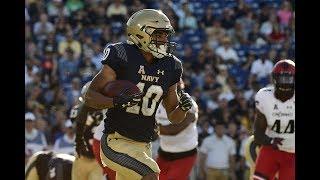 Football Highlights - Navy 42, Cincinnati 32