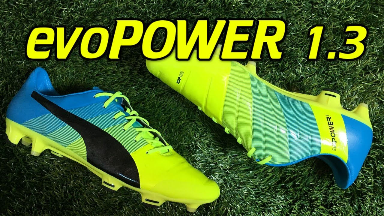 6d75ed418edd Puma evoPOWER 1.3 Safety Yellow Atomic Blue - Review + On Feet - YouTube