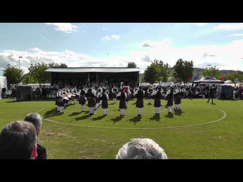 Seven Towers Pipe Band - Ards 2012