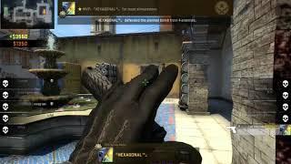 CS:GO Frag Clip Glock18 in Map Inferno