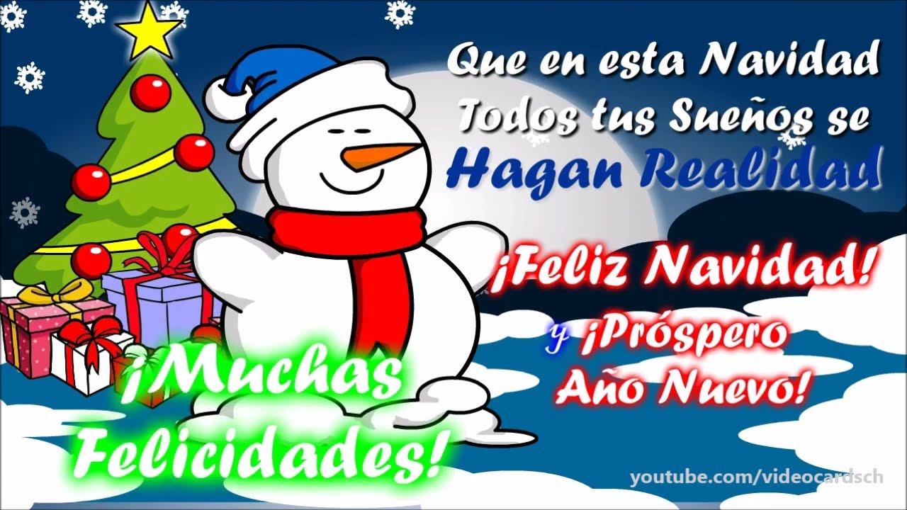 Tarjetas navide as animadas felicitaciones navide as - Dibujos tarjetas navidenas ...